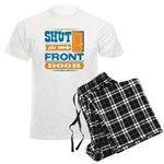 Shut The Front Door Men's Light Pajamas