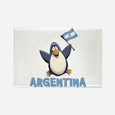 Argentina Penguin Rectangle Magnet