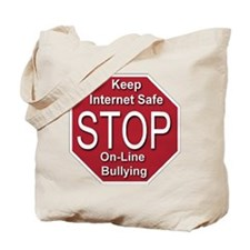 Stop On-line Bullying Tote Bag