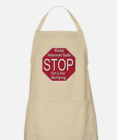 Stop On-line Bullying Apron