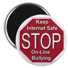 Stop On-line Bullying Magnet