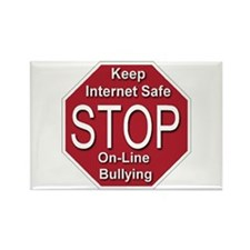 Stop On-line Bullying Rectangle Magnet (10 pack)