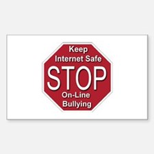 Stop On-line Bullying Decal