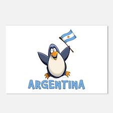 Argentina Penguin Postcards (Package of 8)