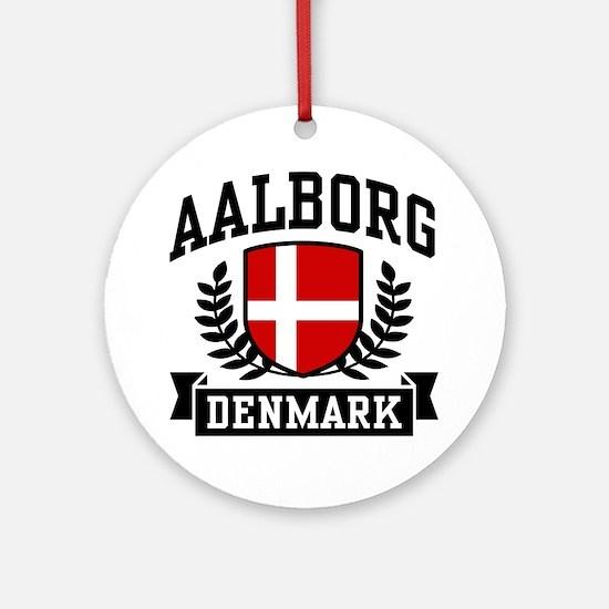 Aalborg Denmark Ornament (Round)