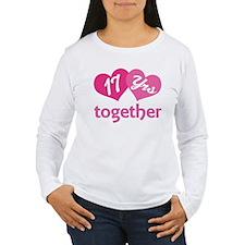 17th Anniversary Hearts T-Shirt