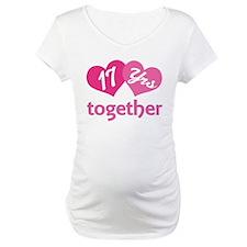 17th Anniversary Hearts Shirt