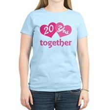 20th Anniversary Hearts T-Shirt