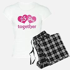25th Anniversary Hearts Pajamas