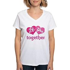 26th Anniversary Hearts Shirt