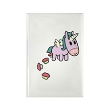Unicorn Sweets Rectangle Magnet