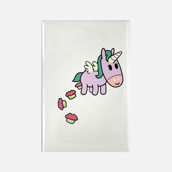 Unicorn Sweets Rectangle Magnet