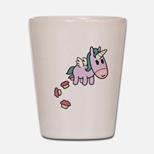 Unicorn Sweets Shot Glass