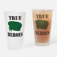 True Heroes Green Beret Pint Glass