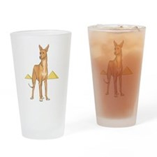 Pharoah Hound Pint Glass