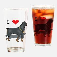 Rottweiler Pint Glass
