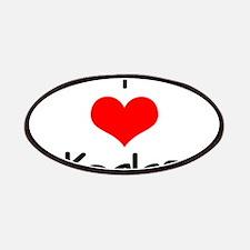I Love (heart) Koalas Patches