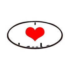 I Love (heart) Lambs Patches