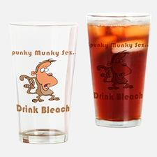 Drink Bleach Pint Glass