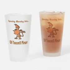 Off Yourself Please Pint Glass