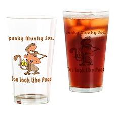 You Look Like Poop Pint Glass