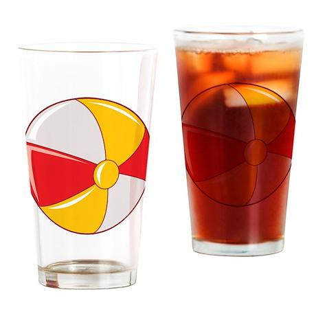 Beach ball Pint Glass
