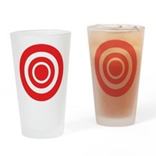 Bullseye Pint Glass