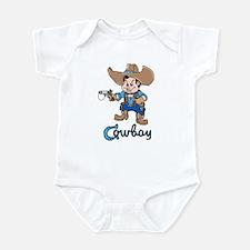 Cute Cowboy Infant Creeper
