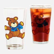 Teddy Pint Glass