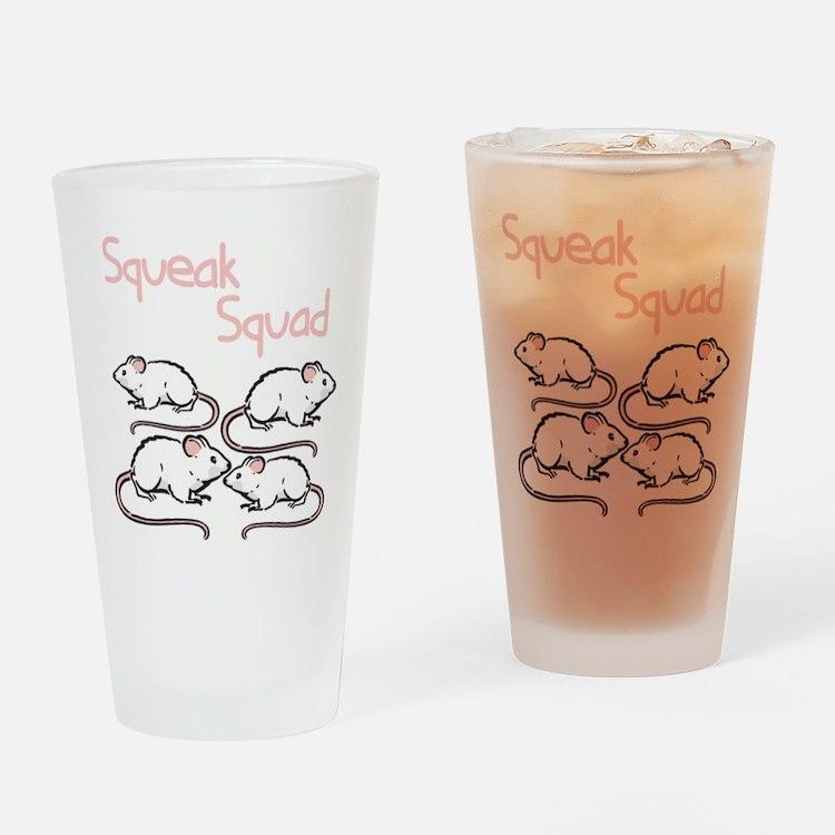 Squeak Squad Pint Glass