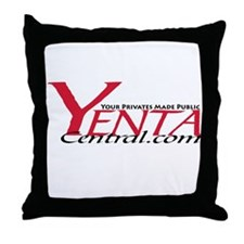 YENTA CENTRAL Throw Pillow
