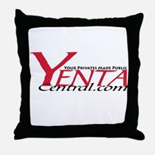 YENTA CENTRAL Throw Pillow