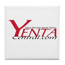 YENTA CENTRAL Tile Coaster