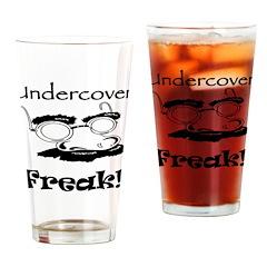 Undercover Freak Pint Glass