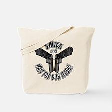 Wait For Duh Flash Tote Bag