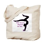Gymnastics Tote Bag - Success