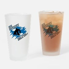 PUCK STOPS HERE Pint Glass
