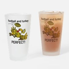 FOOTBALL TURKEY Pint Glass