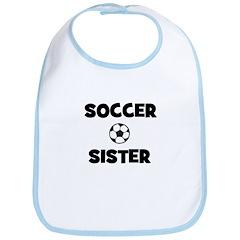 Soccer Sister Bib