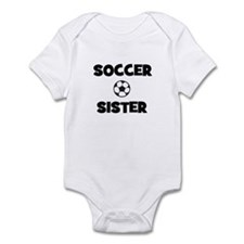 Soccer Sister Infant Creeper
