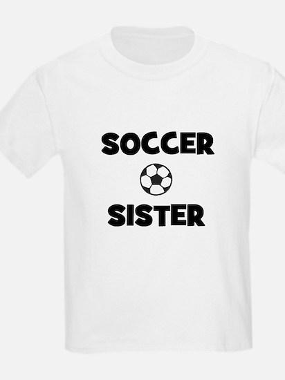 Soccer Sister Kids T-Shirt