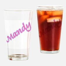 MANDY Pint Glass