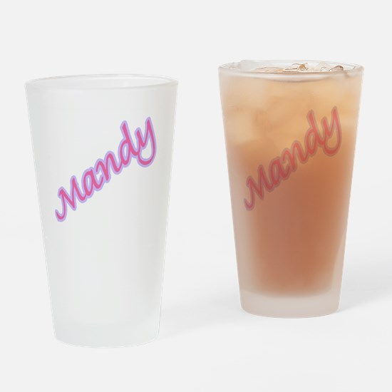 MANDY Pint Glass