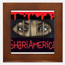 Funny Mohammed Framed Tile