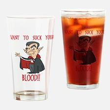 I Vant To.. Pint Glass