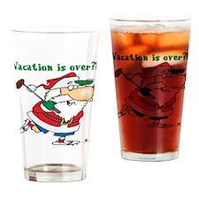 Vacation Santa Pint Glass