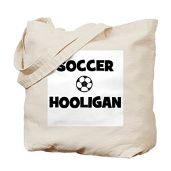 Soccer Hooligan Tote Bag