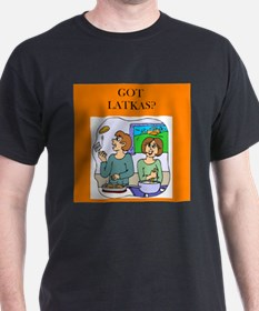 GOT LATKAS/ Black T-Shirt