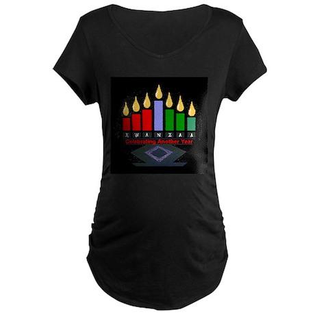 Kwanzaa Maternity Dark T-Shirt
