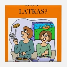 GOT LATKAS/ Tile Coaster